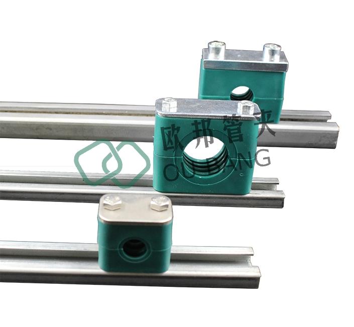 轻型导轨管夹组合